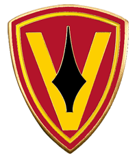 5th Marine Division Patch