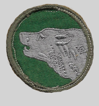 104th ID Insignia Patch 104th Infantry Division
