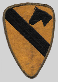 1st Cav Insignia Patch 1st Cavalry Division