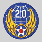 20th Air Force Patch 20th Army Air Force