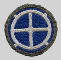 35th ID insignia patch 35th Infantry Division