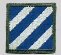 3rd ID Insignia Patch 3rd Infantry Division