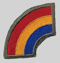 42nd ID insignia patch 42nd Infantry Division