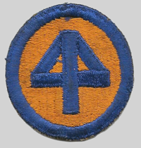 44th ID insignia patch 44th Infantry Division