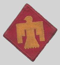 45th ID insignia patch 45th Infantry Division