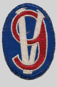 95th ID Insignia Patch 95th Infantry Division